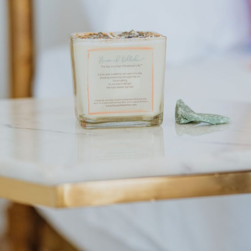 Halo Soy Wax Glass Candle